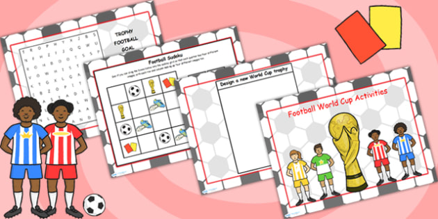 Football World Cup Activity Pack - football, world cup, sport