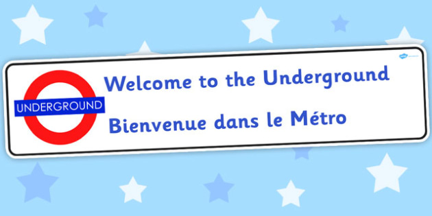 Welcome To The Underground Role Play Banner - roleplay, transport