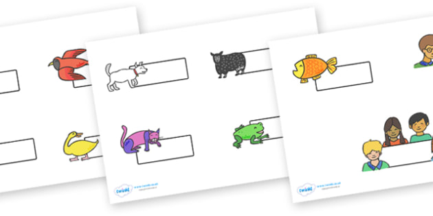 Self-Registration to Support Teaching on Brown Bear, Brown Bear - Brown Bear, Brown Bear, Bill Martin,  red bird, yellow duck, blue horse, green frog, purple cat, colours, animals, animal names, story, story book, story book resources, story sequenci