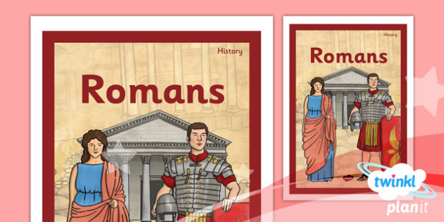 History: Romans LKS2 Unit Book Cover