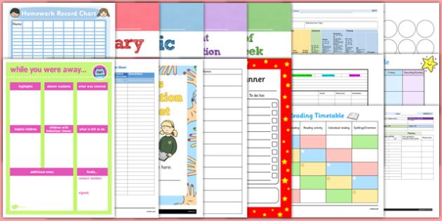 Teaching File Resource Pack