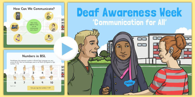 Deaf Awareness Week PowerPoint