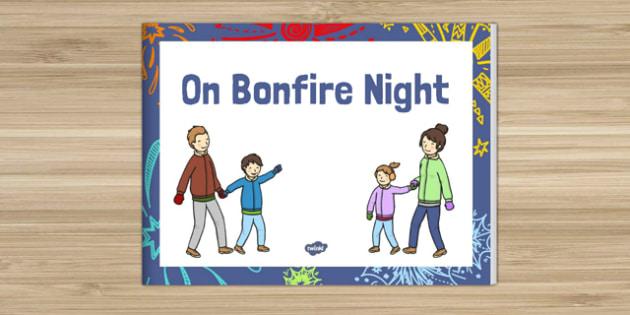 On Bonfire Night Story eBook - bonfire night, story, ebook, e-book, e book
