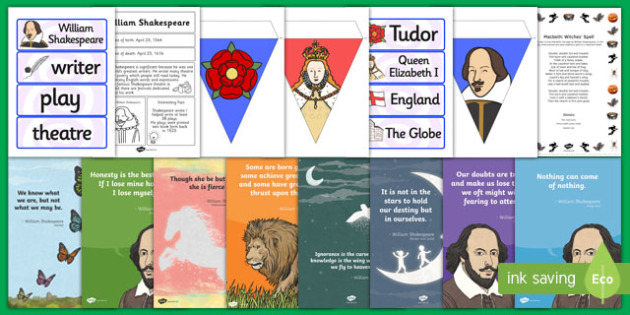 Shakespeare Resource Pack