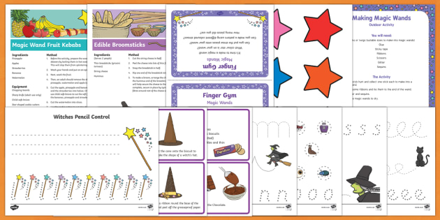 Childminder Resource Pack to Support Teaching on Winnie the Witch