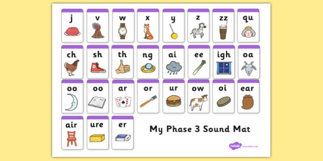 Image result for phase 3 sound mat