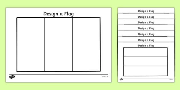 Flag Design Template Resource Pack