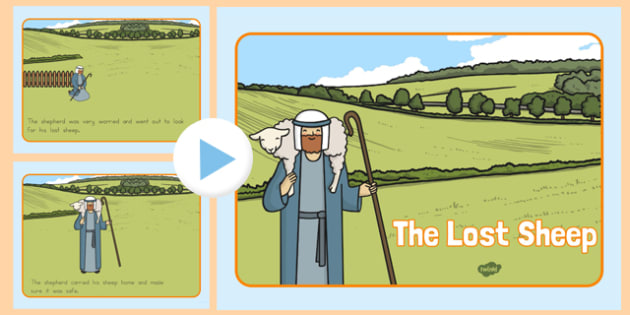 The Lost Sheep Story PowerPoint - usa, the lost sheep, the lost sheep powerpoint, the lost sheep story, the lost sheep story sequencing, bible story, religion