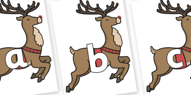 Phoneme Set on Rudolph - Phoneme set, phonemes, phoneme, Letters and Sounds, DfES, display, Phase 1, Phase 2, Phase 3, Phase 5, Foundation, Literacy