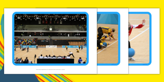 The Paralympics Goalball Display Photos - Goalball, ball, Paralympics, sports, wheelchair, visually impaired, display, photo, photos, poster, 2012, London, Olympics, events, medal, compete, Olympic Games