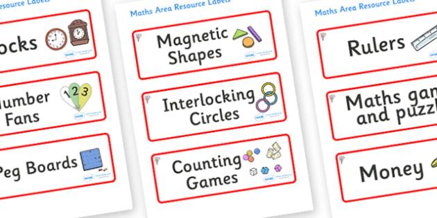 Magnolia Tree Themed Editable Maths Area Resource Labels - Themed maths resource labels, maths area resources, Label template, Resource Label, Name Labels, Editable Labels, Drawer Labels, KS1 Labels, Foundation Labels, Foundation Stage Labels, Teachi