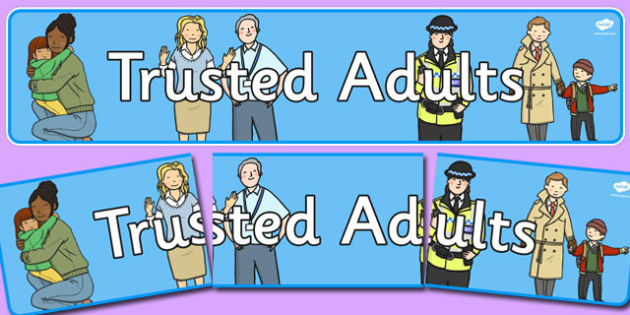 Trusted Adults Display Banner - trusted, adults, display banner, display, banner