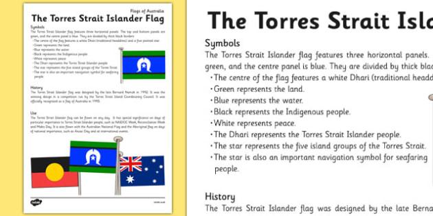 Flags of Australia Torres Strait Islander Flag Info -flags, australia, torres, strait, ,Australian, world, flags, geography