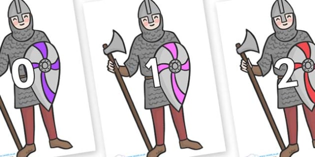Numbers 0-50 on Soldiers - 0-50, foundation stage numeracy, Number recognition, Number flashcards, counting, number frieze, Display numbers, number posters