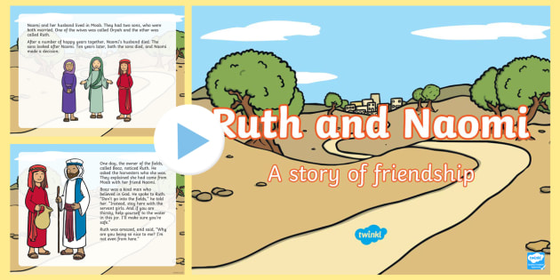 Ruth and Naomi Women in the Bible PowerPoint