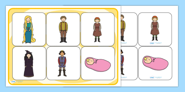 Rapunzel Matching Cards and Board - rapunzel, rapunzel matching game, rapunzel picture matching activity, rapunzel sen image matching game, sen activities