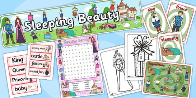 Sleeping Beauty Story Sack - sleeping beauty, stories, traditonal
