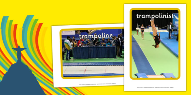 The Olympics Trampoline Display Photos - the olympics, rio olympics, 2016 olympics, rio 2016, trampoline, display photos