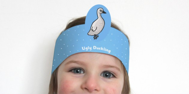 The Ugly Duckling Role Play Headbands - story, roleplay, stories