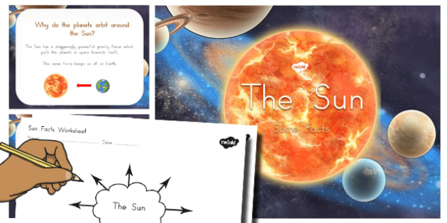 Sun Facts PowerPoint and Worksheets - australia, sun, facts