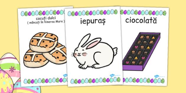 Sărbătoarea de Paște - Planșe