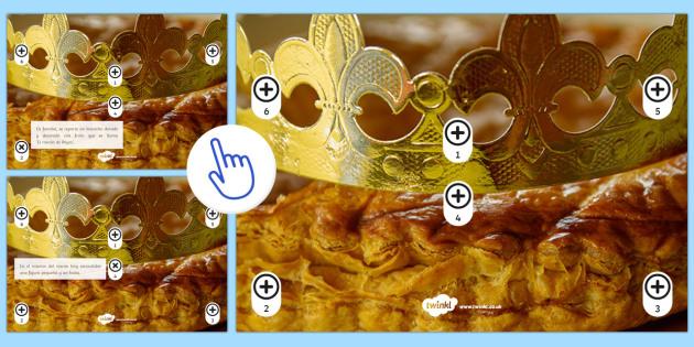 Spanish Epiphany Picture Hotspots - Spanish, Speaking, Practice, picture, hotspots, description, epiphany