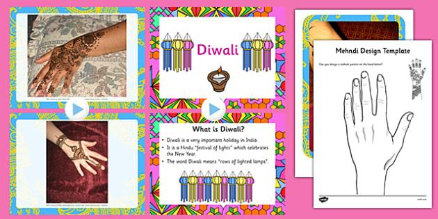Diwali Mehndi Patterns Resource Pack - diwali, mehndi, patterns, resource, pack