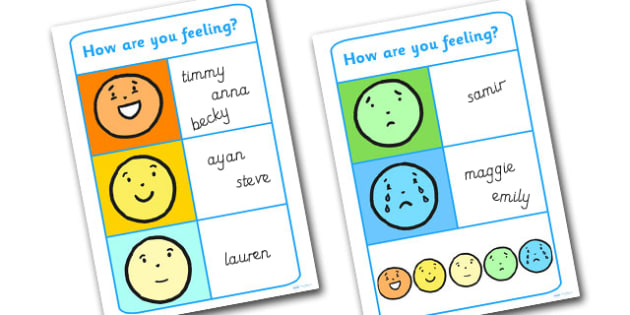 Emotion Reward Chart Group Or Class  Emotions Feelings Reward