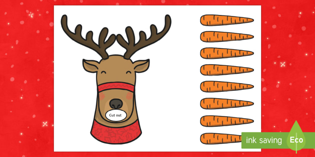 Feed Rudolph Counting Activity