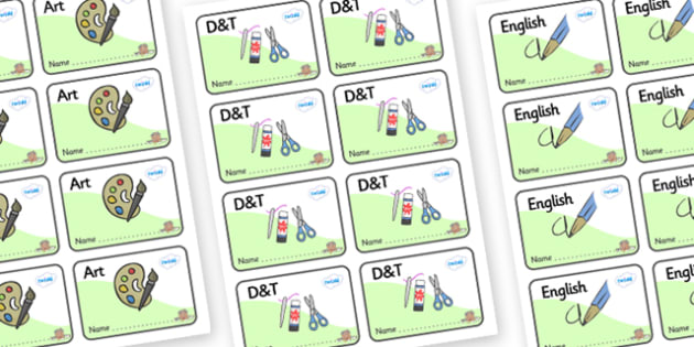 Farmyard Themed Editable Book Labels - Themed Book label, label, subject labels, exercise book, workbook labels, textbook labels
