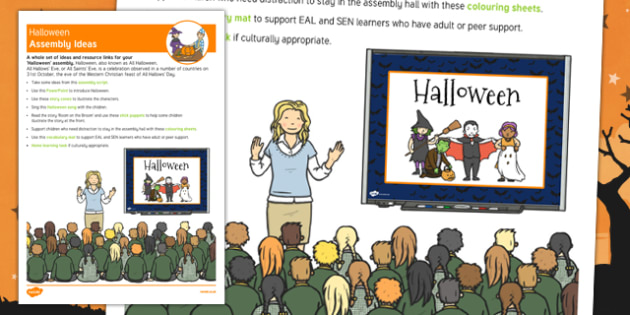 Halloween Assembly Ideas