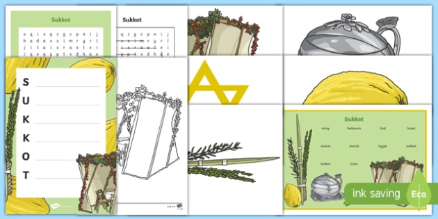 Sukkot KS2 Activity Pack