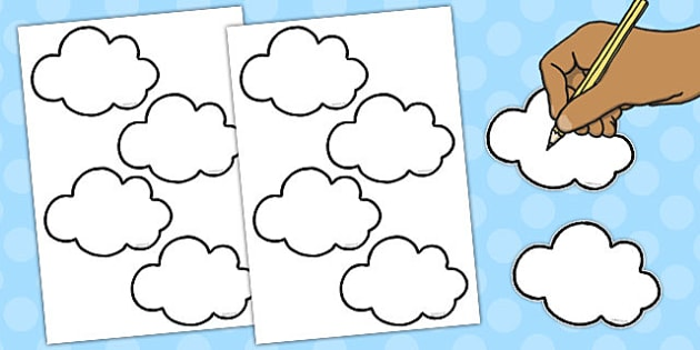 Editable Clouds for Display - editable, clouds, display, edit
