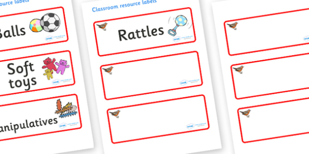 Chaffinch Themed Editable Additional Resource Labels - Themed Label template, Resource Label, Name Labels, Editable Labels, Drawer Labels, KS1 Labels, Foundation Labels, Foundation Stage Labels, Teaching Labels, Resource Labels, Tray Labels, Printabl