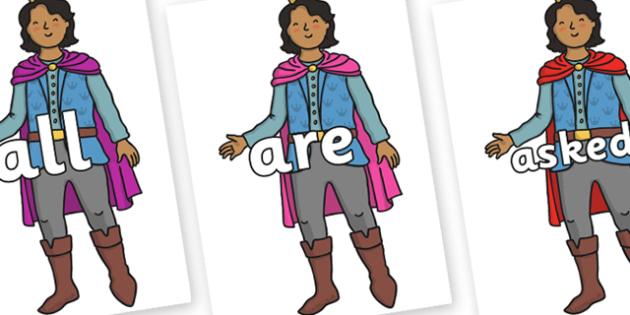 Tricky Words on Prince - Tricky words, DfES Letters and Sounds, Letters and sounds, display, words