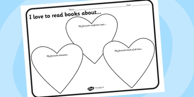 I Love To Read Worksheet - I love to read, reading, comprehension, worksheet, reading worksheet, comprehension worksheet, reading sheets, worksheets
