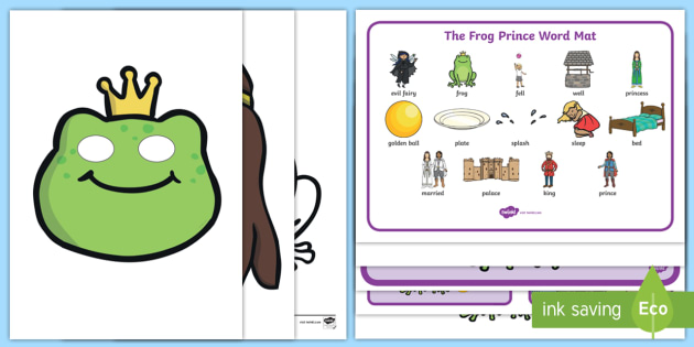 The Frog Prince Story Sack - story sack, story books, story book sack, stories, story telling, childrens story books, traditional tales