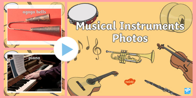 Musical Instruments Photo PowerPoint - musical instruments, photo powerpoint, music, instruments, musical instruments photos, musical instrument powerpoint
