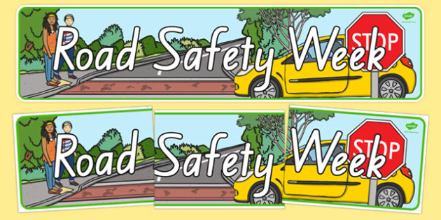 New Zealand Road Safety Week Display Banner