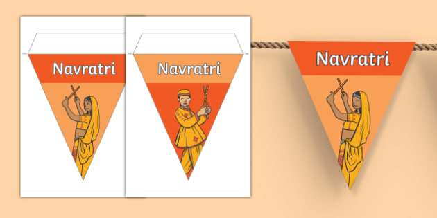 Navratri Display Bunting