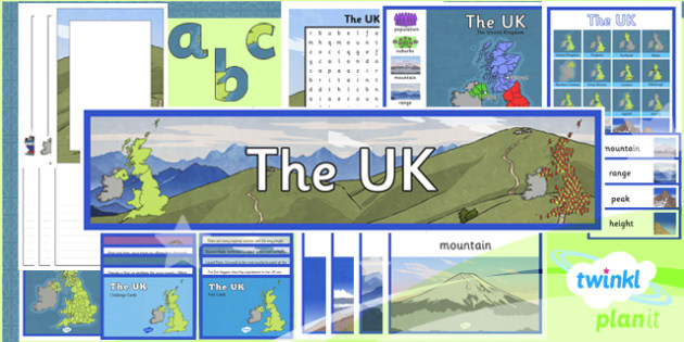 Geography: The UK Year 3 Additional Resources
