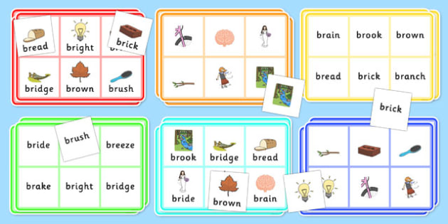 BR Bingo - br sound, bingo, game, activity, sound, br, sen, bingo game