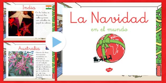Presentación: Navidad por el mundo - otras culturas, otros paises, otras traduciones, navidad, navideño - otras culturas, otros paises, otras traduciones, navidad, navideño