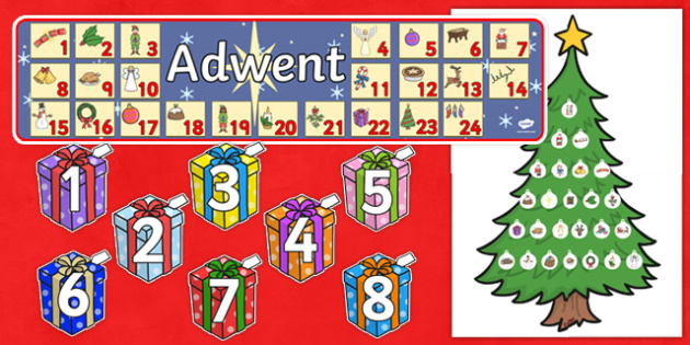 Ready Made Advent Display Pack Polish - ready made, advent, display