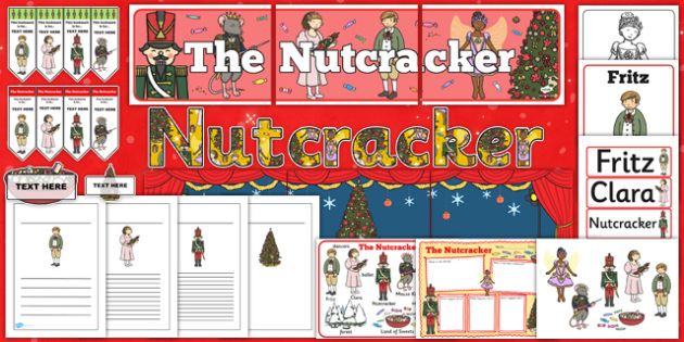 The Nutcracker Story Sack - nutcracker, story, sack, resources
