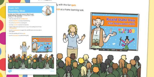 Roald Dahl Day Assembly Ideas