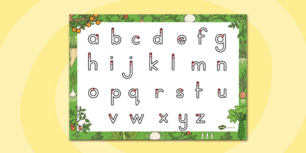 Grow Your Own Vegetables Themed Letter Writing Sheet - australia