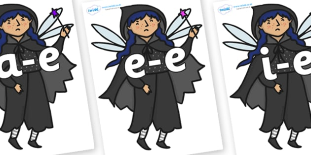 Modifying E Letters on Evil Fairy - Modifying E, letters, modify, Phase 5, Phase five, alternative spellings for phonemes, DfES letters and Sounds