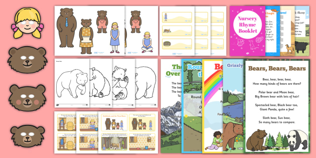 Bear-Themed Intergenerational Toddler Singing Group Resource Pack - Intergenerational Ideas, bears, singing, ideas, support, activities, care givers, activity coordinat