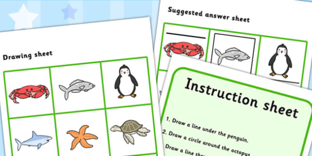Listen And Do 3 Three Word Level - listen, do, sen, draw, write